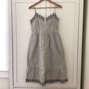 Madewell Embroidered Jardin Dress